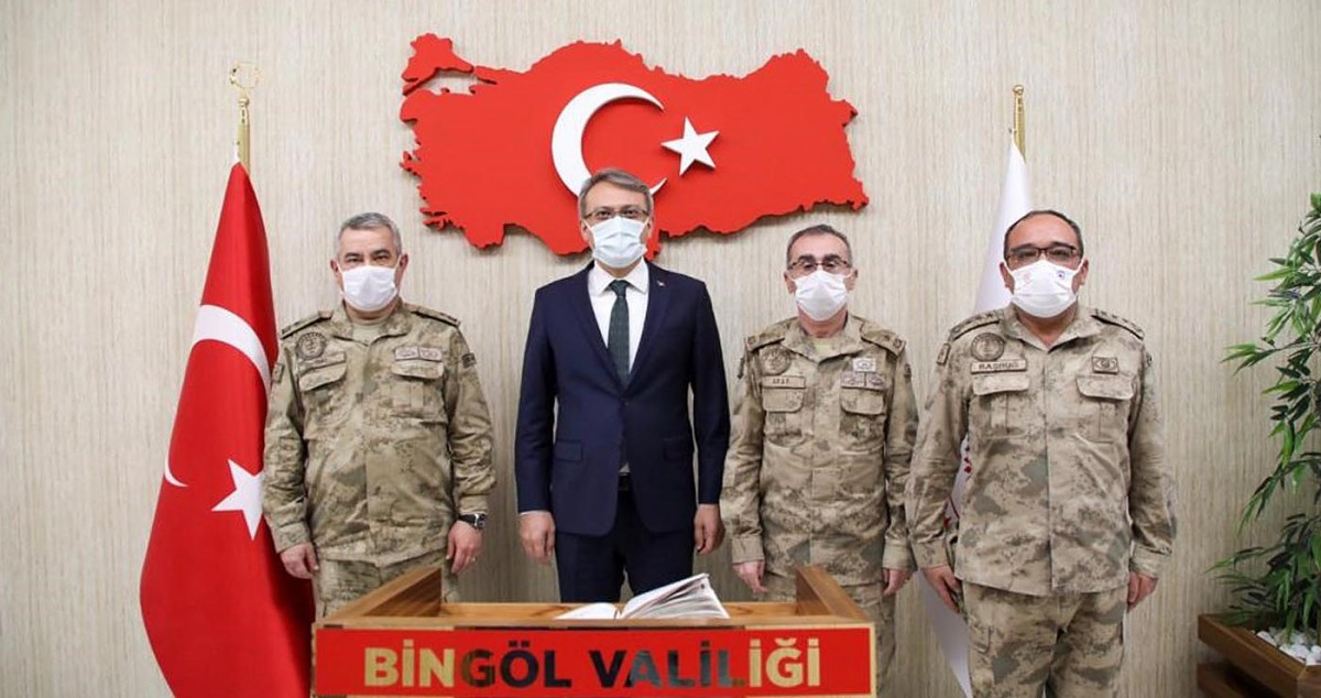 Jandarma Genel Komutanlığından Vali Ekinci'ye ziyaret
