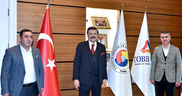 Bingöl TSO yönetimi Ankara'da