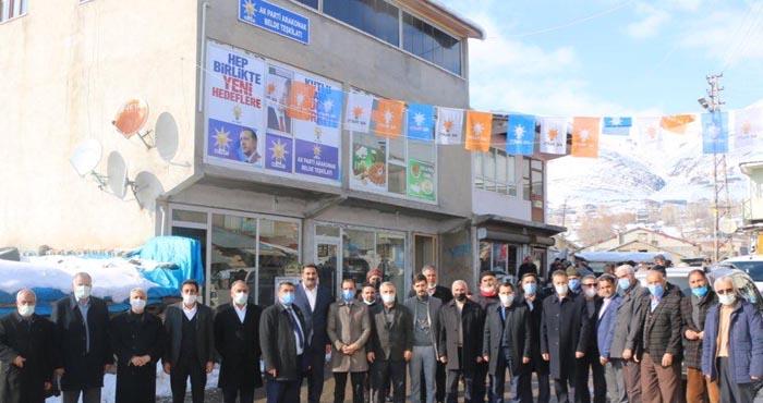 AK Parti Arakonak binası hizmete açıldı