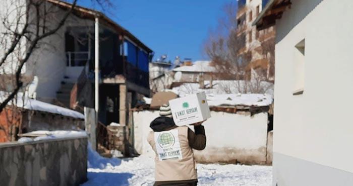 Bingöl Umut Kervanı'ndan 363 aileye yardım