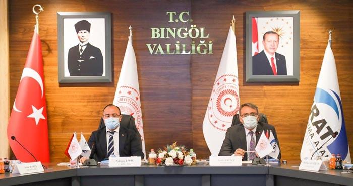 FKA Yönetim Kurulu Bingöl'de toplandı