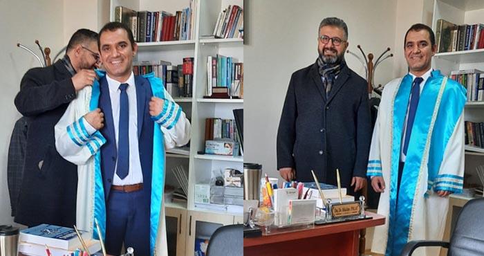Bingöl Üniversitesinde doktora heyecanı