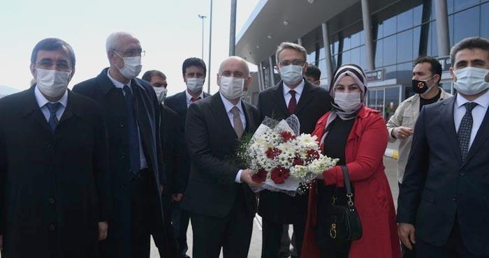Ulaştırma ve Altyapı Bakanı Adil Karaismailoğlu Bingöl'de