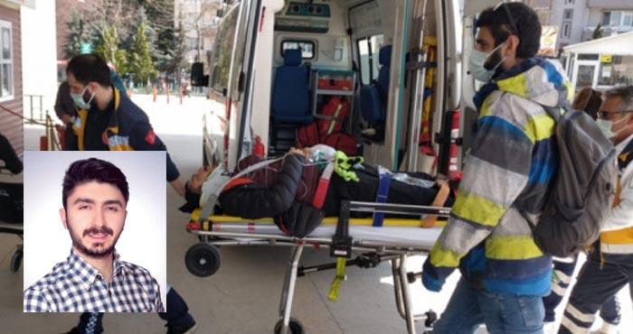 Bingöllü akademisyen Bursa'da yamaç paraşütü kazası geçirdi