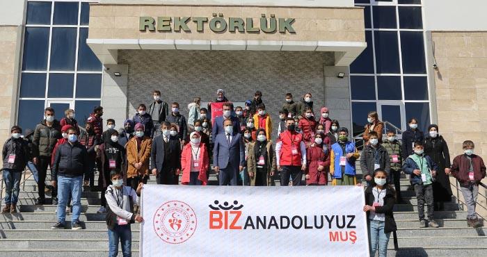 'Biz Anadoluyuz Projesi' ile Muşlu 45 öğrenci Bingöl'ü gezdi