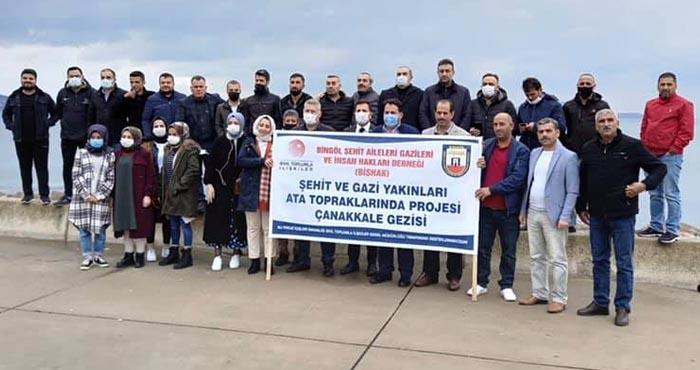 Bingöl şehit ve gazi aileleri İstanbul'da