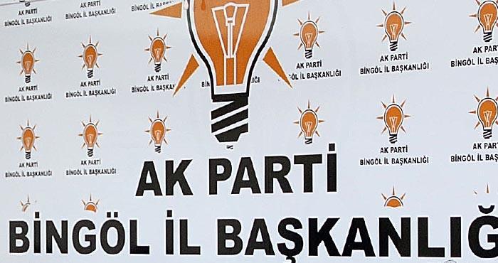 AK Parti Bingöl İl Başkanlığından
