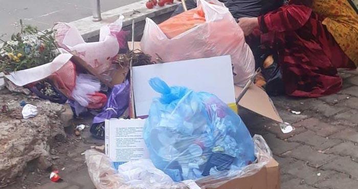 Bingöl'de çöpten yiyecek aradığı iddia edilen kadın Suriyeli çıktı