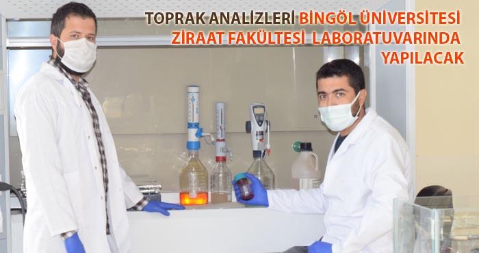Bingöl Üniversitesi Ziraat Fakültesi Laboratuvarı yetkilendirildi