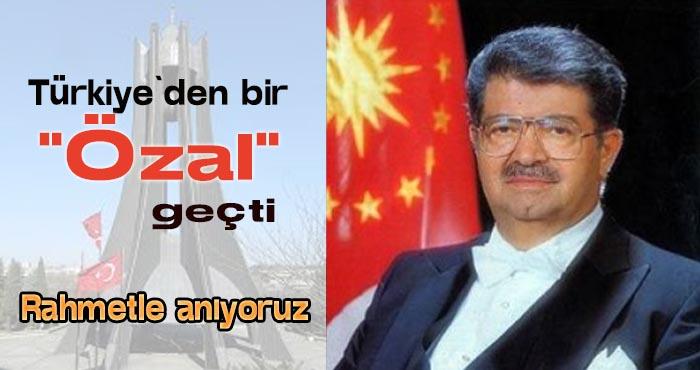 Turgut Özal, vefatının 28. yılında rahmetle anılıyor