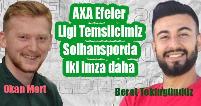 Solhanspor iç transferde iki isimle daha anlaştı