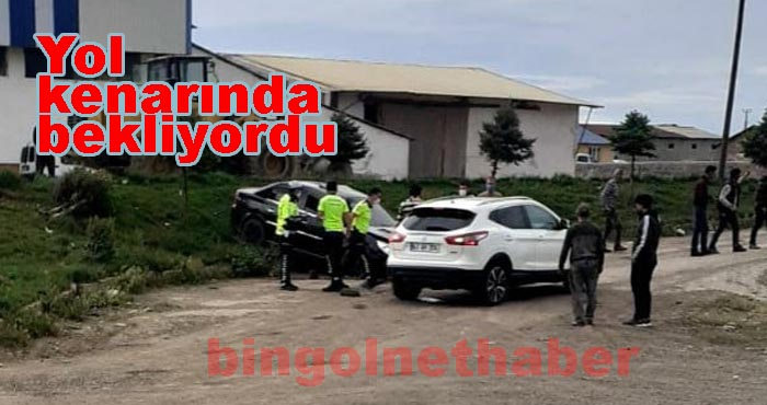 Genç yolunda trafik kazası: 1 ölü 2 yaralı