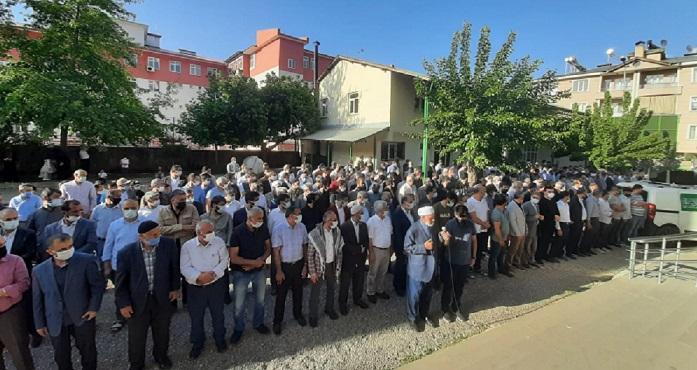 Bingöl'de Filistinli şehitler için gıyabı cenaze namazı kılındı