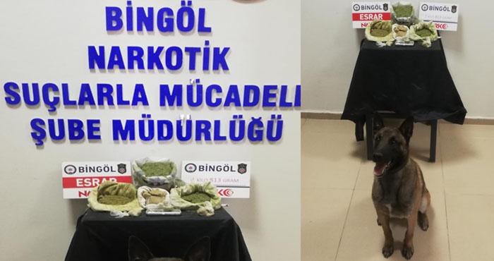 Bingöl'de uyuşturucu operasyonu: 2 kişi gözaltına alındı