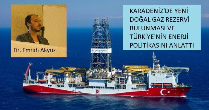 Enerjide yeni keşif! Karadeniz'de yeni doğal gaz rezervi bulundu