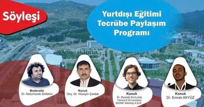 Yurtdışı eğitimle ilgili online söyleşi programı düzenlendi