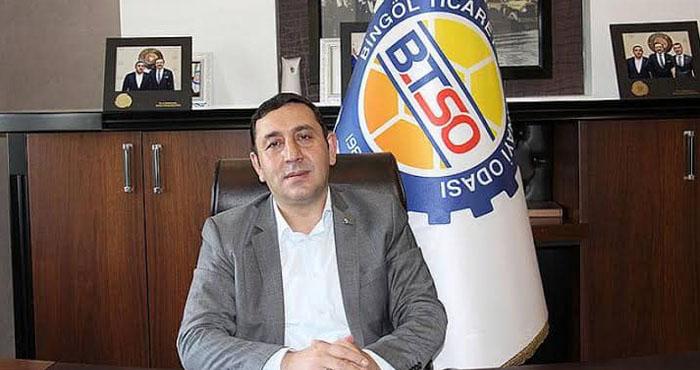 Kalp krizi geçiren Bingöl TSO Başkanı Ayas, yoğun bakımda