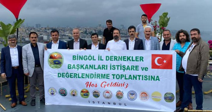Bingöl dernekleri İstanbul'da buluştu