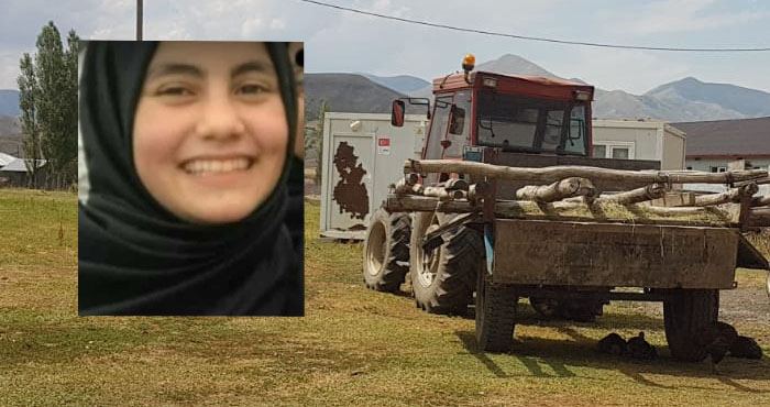 Kahreden kaza! Baba traktörle kızını ezdi