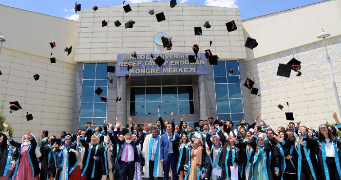 Bingöl Üniversitesi Sağlık Bilimleri Fakültesi 5. mezunlarını verdi