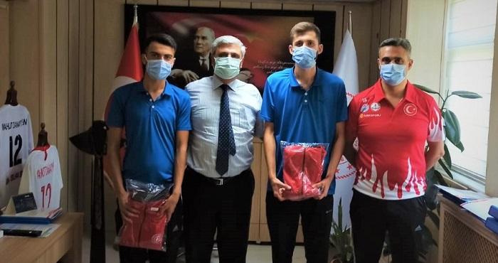 Bocce şampiyonları Bingöllü sporcular Milli Takımda