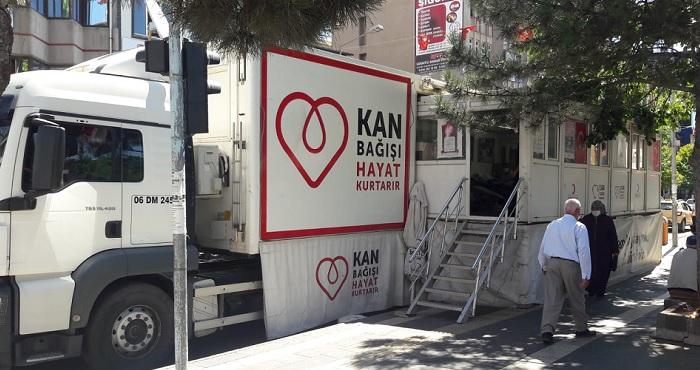 Kızılay Kan Bağış Tırı Bingöl'de