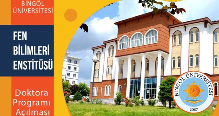 Bingöl Üniversitesinin doktora programı 16'ya yükseldi