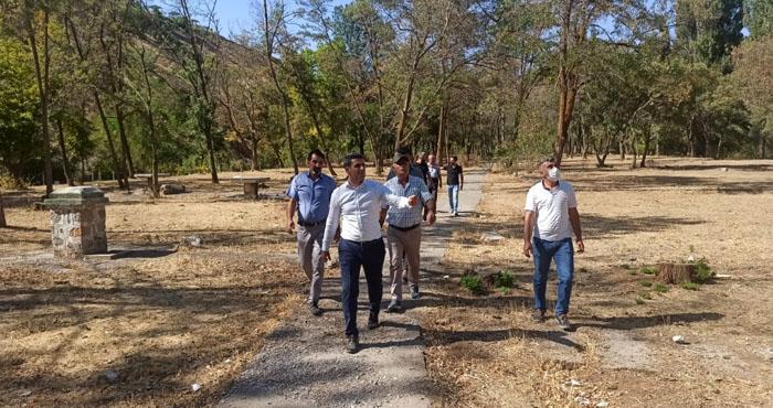 Belediye el attı! DSİ Parkı yeniden düzenleniyor!