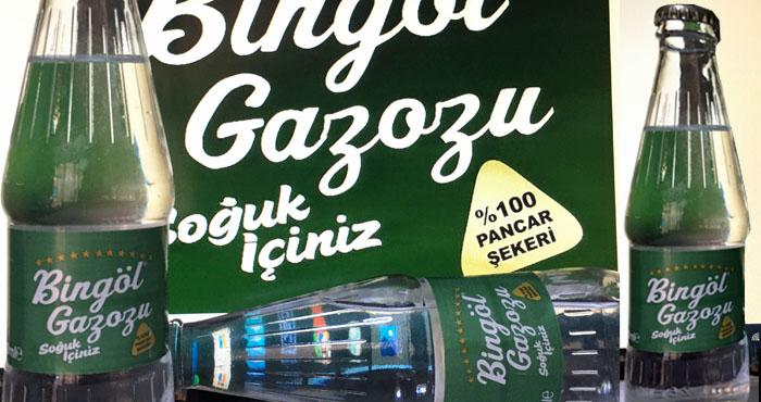 Bingöl Gazozu yeni lezzetiyle raflarda