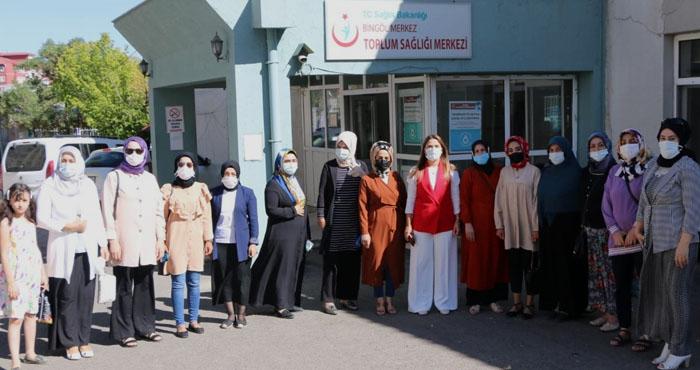 AK Parti Bingöl Kadın Kolları'ndan