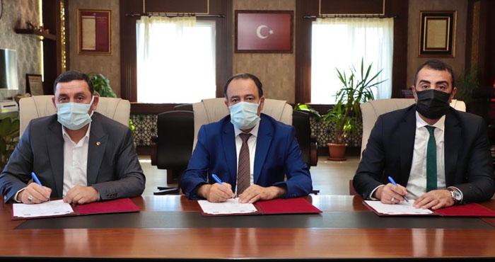 Bingöl Üniversitesi'nde üçlü protokol imzalandı
