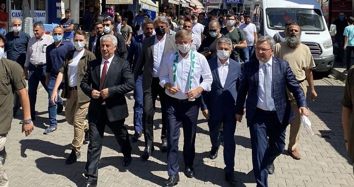 Gelecek Partisi Genel Başkanı Ahmet Davutoğlu, Bingöl'de