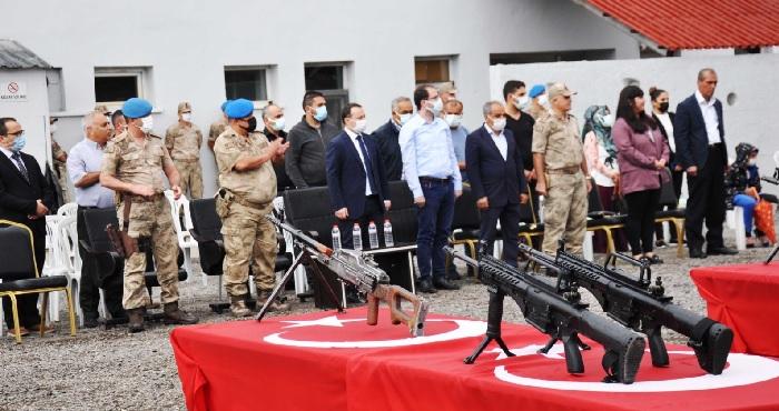 Kiğı'de 50 güvenlik korucusu törenle göreve başladı