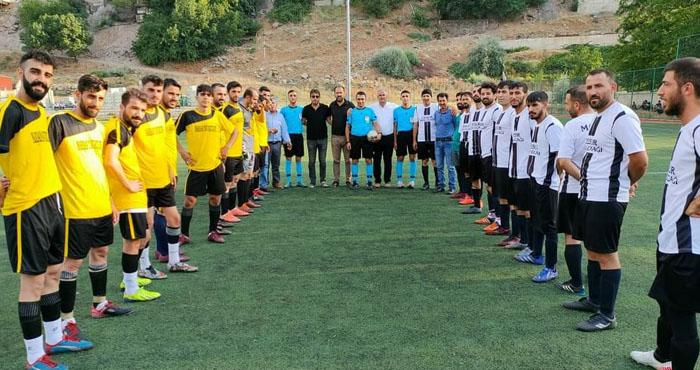Bingöl'de köyler arası futbol turnuvası heyecanı