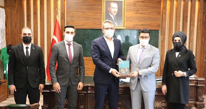 TUSİM Başkanı Mustafa Alpay, Bingöl'de ziyaretlerde bulundu